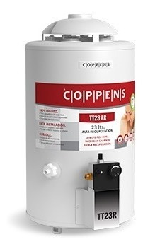 TERMOTANQUE COPPENS 22Lts AR SUP INF 210 LTS/H TTQ22CO