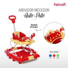 ANDADOR  FELCRAFT AUTO-PATO 4002 7798168351845